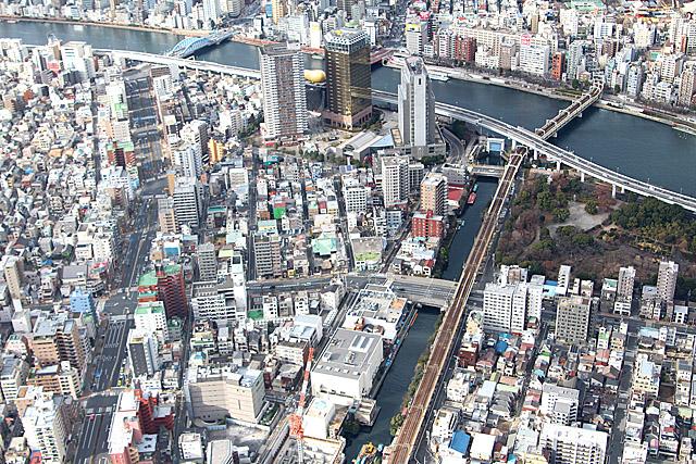 東京スカイツリー第一展望台の天望デッキ