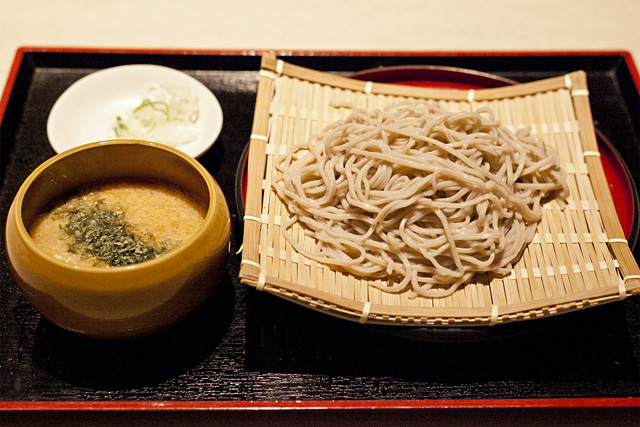 奥京 とろろ蕎麦