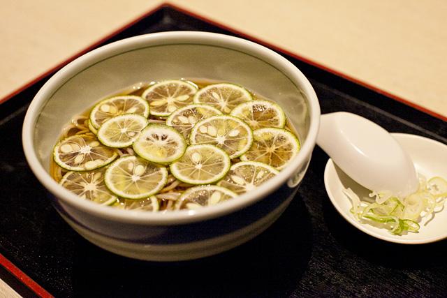 奥京 香母酢蕎麦