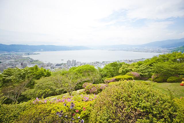 糸守湖(諏訪湖)