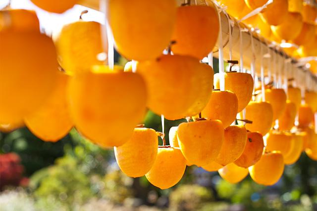 岩波農園のころ柿(枯露柿)